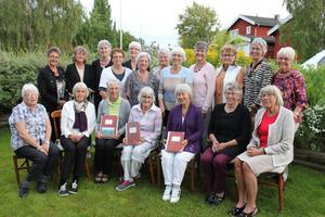 I somras firades 50-årsjubileum för sjuksköterskorna som tog examen i Östersund 1964.