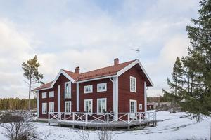 Huset i Lund är på 200 kvadrat. Foto: Mikael Frisk
