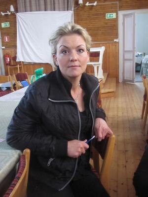 samlade synpunkter. Lena Hisved från Gävle kommun fick in flera synpunkter i vargfrågan.
