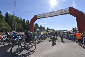 Cykelvasans start i Sälen.