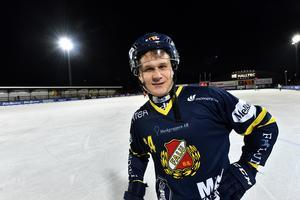 Michale Pettersson, fyramålsskytt mot Västanfors.