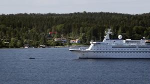 I morse lade Spirit of Adventure till i Hudiksvall.