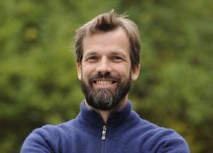 Henrik Thurfjell har doktorerat på vildsvin och jobbar vid Artdatabanken.