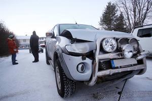 Den stulna bilens ställdes sedan tillbaka på samma ställe där dens stals.