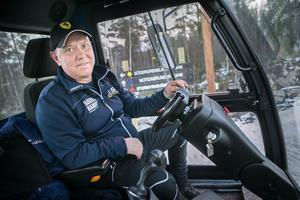 Ulf Olsson är ordförande i Söderhamns Skidkamrater och var spårchef under SM-veckan 2017.