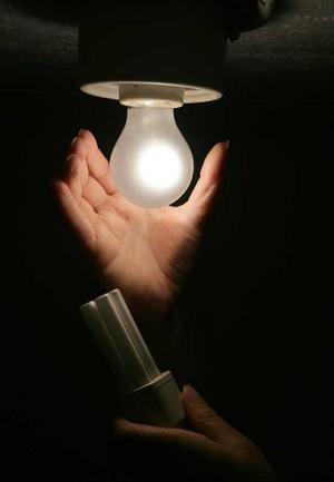 Symbolik. Kanske fick lördagskvällens släckta lampor många att fundera över vad man själv kan göra för att minska elförbrukningen och därmed belastningen på jordens resurser.