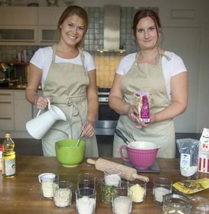 Jessica Frej och Maria Blohm har skapat en ny brödvärld för glutenintoleranta.Foto: Leif R Jansson/TT