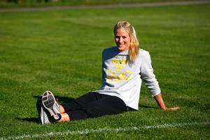 Gizela Ahlgren-Bloom i Norrtälje under sommaren 2014.