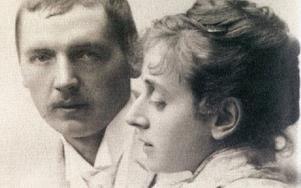 Annders och Emma Zorn. Bilden är tagen kring 1885.