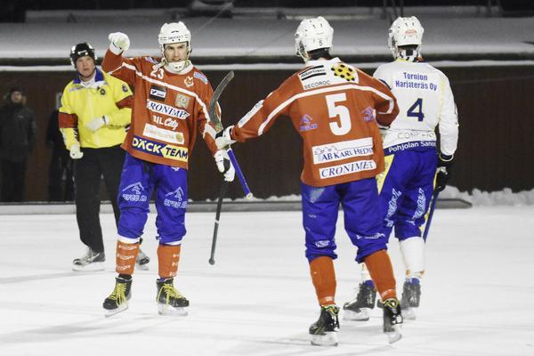 Klas Nordström gjorde två av målen mot Nitro/Nora.