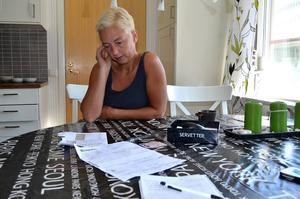 Ulrika Johansson blev ordentligt uppjagad när hon förstod att hennes identitet hade kapats.