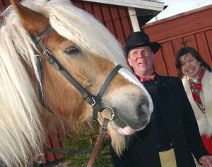 Ardennern tillsammans med Harri och Liza Wiklund.