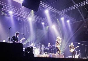 Tommy Nilssons konsert var uppdelat i två akter.