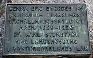 1930 stod bron över Ljungan klar men nu kanske den måste rivas.