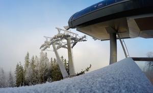 Kläppen var troligtvis en av de första platserna i Dalarna som täcktes av ett vitt snötäcke.