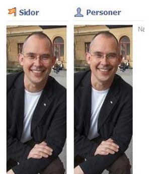 Staffan Werme kör med dubbla profiler.