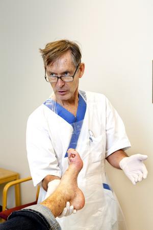 beredd. Enhetschefen för infektionskliniken på sjukhuset i Västerås, Tomas Vikerfors, anser att personalen är redo att ta emot en ebolasmittad om detta skulle behövas.Foto:  Per G Norén/arkiv