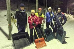 Ideella krafter som förberedde vinterns Folksam cup i Sveg.
