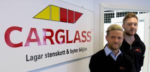 Robert Nyström och Simon Larsson bygger upp en ny verksamhet i Gävle.