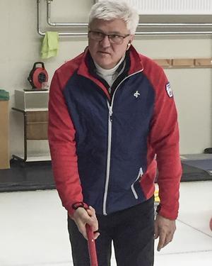 Sundsvall Curlings ordförande Anders Rodin.