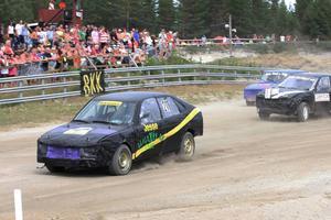 Jessica Persson hade en klar ledning i finalen men fick problem med drivaxeln och slutade sist.