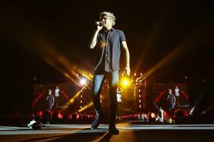Niall Horan i One Direction under en konsert i San Diego i tidigare i sommar.