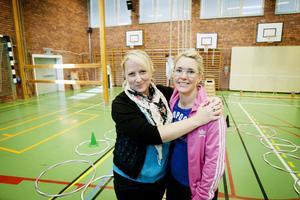 Nästa steg blir att bjuda in föräldrarna till Facebook-gruppen, säger lärarna Ulrika Ström och Åsa Kjellberg.