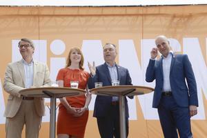 Ragna Unger (M) är stolt över den politik som Alliansen för.