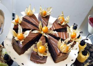 LOCKANDE BAKVERK. Fransk chokladtårta på Polhemsvis.