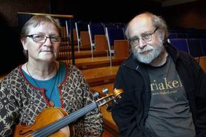 Christina Eketorp och Alistair Cochrane