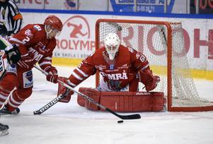 Johan Mattsson gjorde en stormatch för Timrå.