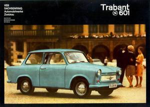 Trabant: På sextiotalet var det upp till 15 års väntetid för en Trabant  i Östtyskland.Ford Edsel tillverkades 1958–1960 och blev den amerikanska bilindustrins största flopp. Foto: Scanpix