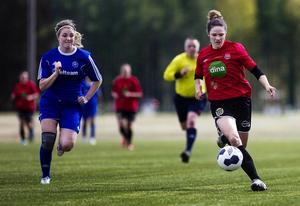 Amanda Bärj var på målhumör och svarade för sammanlagt fyra mål i bortamatchen mot Valbo.