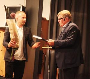 Martin Södergårds tackade Nils Simonson för en tänkvärd föreläsning