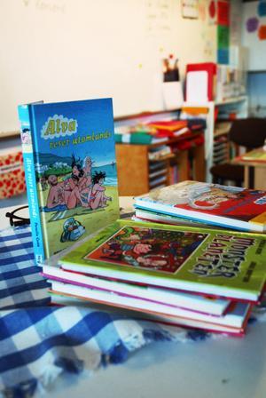 Mest känd är Pernilla Gesén för sin bokserie om skilsmässobarnet Alva. Hittills har det kommit ut 8 böcker, och den nionde är på gång.