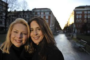 Helena Bergström och Alexandra Rapaport.