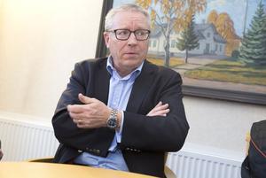 Peter Savin gjorde klart att han och kommunen inte vill
