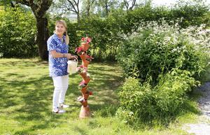 Jessica Lund uppskattar fågelkvittret, vårens grönska och att orka göra saker som hon tycker om.