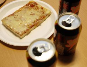 Det är Jolt Cola och panpizza som gäller under helgen