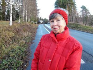 – Vi som har hus får nu ännu svårare att sälja husen, befarar Solveig Månsson, bosatt i Vaplan.