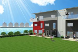 Femte dyraste bostadsrätten är ett radhus med altan och inhägnad innergård. Priset ligger på 4 695 000 kronor och boytan är 169 kvadrat. Projektets heter Concordia 1 och 16 av 18 lägenheter i projektet är redan sålda.