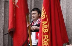 Jasenko Omanovic kritiserade regeringen.