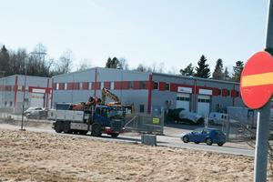 Industrilokaler i Kalvö industriområde.