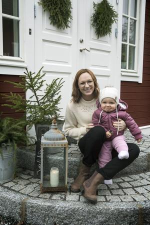 Familjen bytte Skräddarbacken mot Bullerbacken i Gustafs.