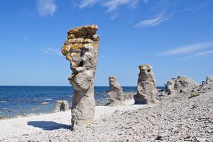 Gotlands berömda stenformationer.
