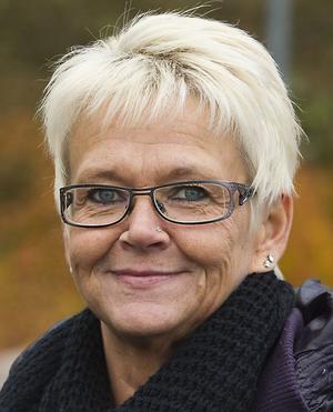 Monica Norin, Hudiksvall: – Det är trångt. Eftersom det är betalfritt borde det vara större.