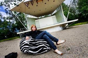 Andrea Wiktorsson är kvinnan bakom stjärnbokningarna som till exempel Lady Gaga och Amy MacDonald. Foto: Ulrika Andersson