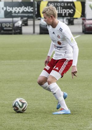 Joel Stillmark spelade sin första hela match när Hudiksvalls FF spelade 2–2 mot Härnösand i förra omgången.