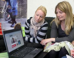 Tove Stenqvist och Teresa Grundin startade Gangstars webbshop 2009.