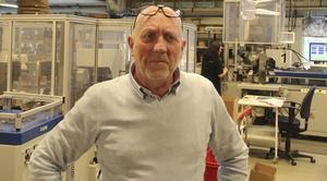 Jan-Olov Berger tycker att det viktigaste i verksamheten är att hjälpa människor ut i arbetslivet.